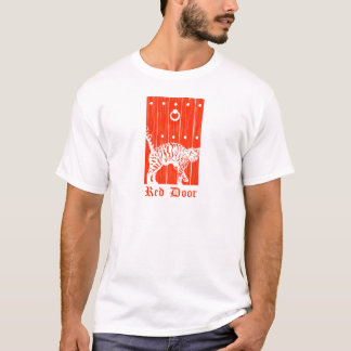 Red Door Cat T-Shirt