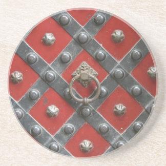 Red Door Coaster