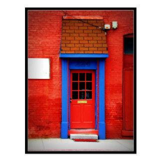 Red Door Postcard