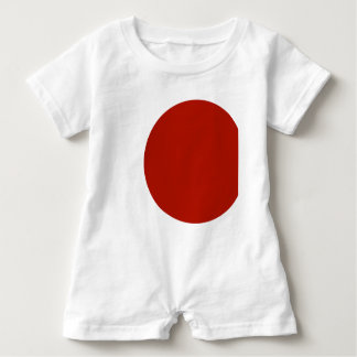 red dot cut baby bodysuit