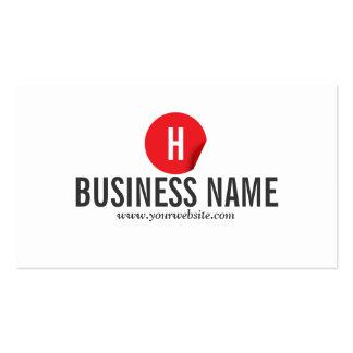 Red Dot Petroleum Engineer Business Card