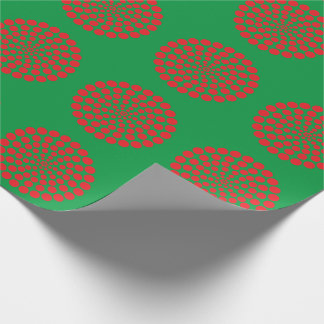 RED DOT PRINT. CUSTOMIZABLE BACKGROUND COLOUR. WRAPPING PAPER