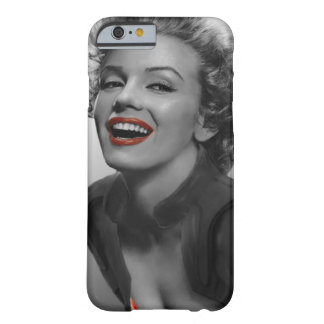 Red Dots Marilyn Barely There iPhone 6 Case