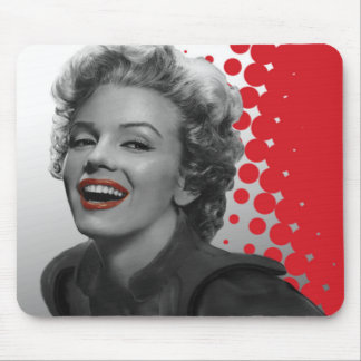 Red Dots Marilyn Mouse Mat