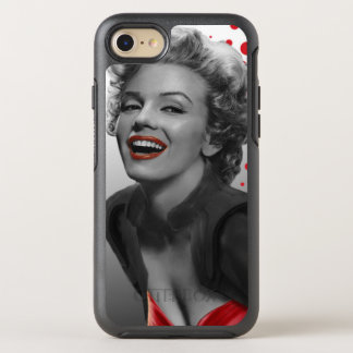 Red Dots Marilyn OtterBox Symmetry iPhone 8/7 Case