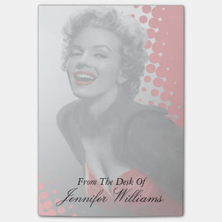 Red Dots Marilyn Post-it Notes