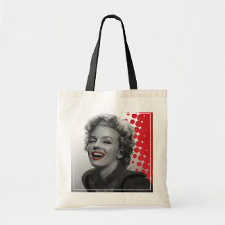 Red Dots Marilyn Tote Bag