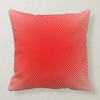 Red Dots Minimal Pillow