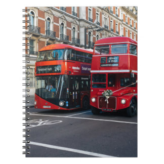 Red Double Decker Buses Notebook