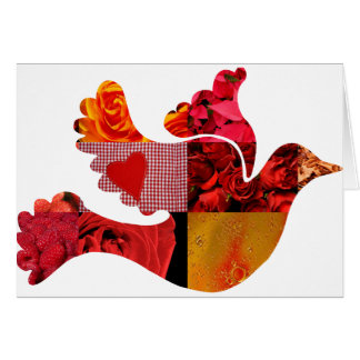Red Dove Card