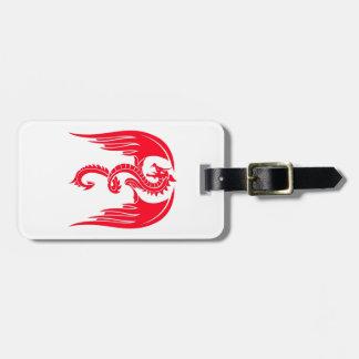 Red Dragaon Red Dragon Luggage Tag
