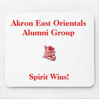 red_dragon3, Akron East Orientals Alumni Group,... Mouse Pad