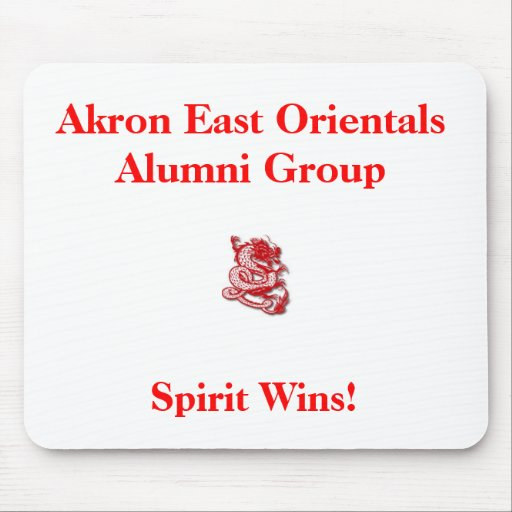 red_dragon3, Akron East Orientals Alumni Group,... Mousepad