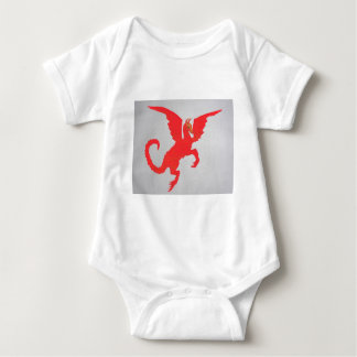 Red Dragon Baby Bodysuit
