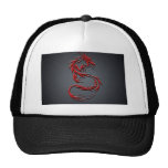 Red Dragon Cap Hats