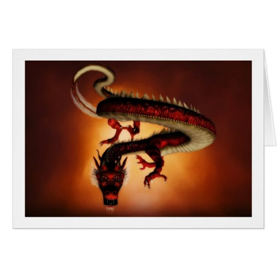 Red Dragon Card