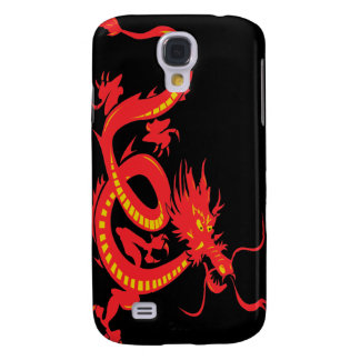 Red Dragon Chinese New Year Galaxy S4 Case