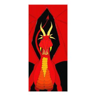 Red Dragon Custom Rack Card