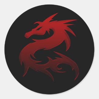 Red Dragon Design 1 :: Fantasy Stickers