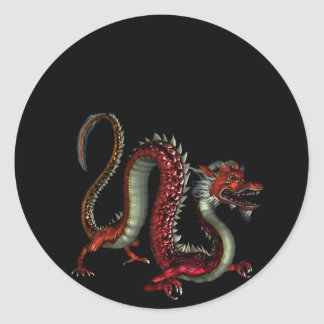 Red Dragon Design 2 :: Fantasy Stickers