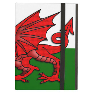 Red Dragon Flag of Wales _ Cover For iPad Air
