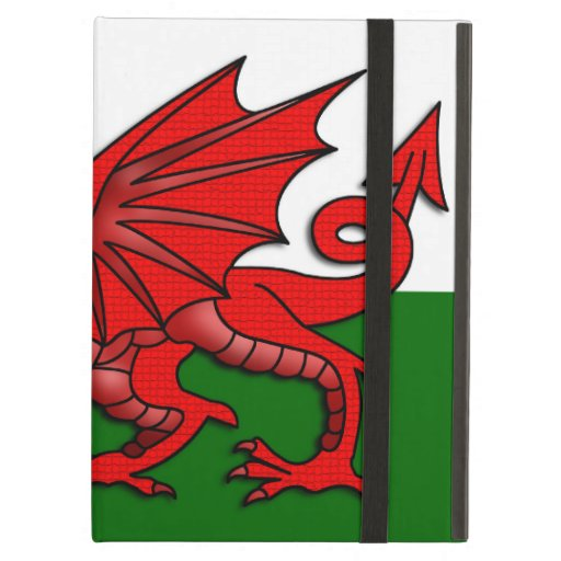 Red Dragon Flag of Wales _ iPad Folio Cases