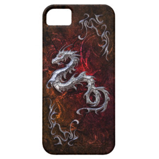 Red dragon for Barely there iPhone 5 Covers