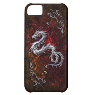 Red dragon for Barely there iPhone 5C Case