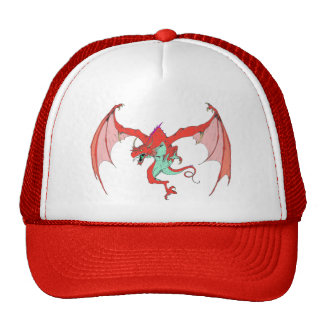 RED Dragon Hat