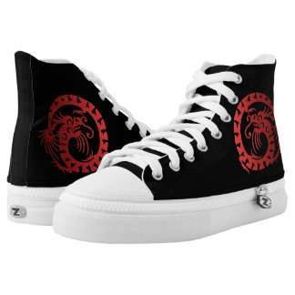 Red Dragon High Tops