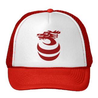 Red Dragon in Egg Hat