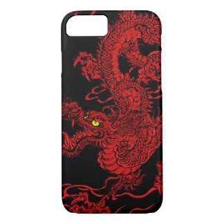 Red Dragon iPhone 7 Case