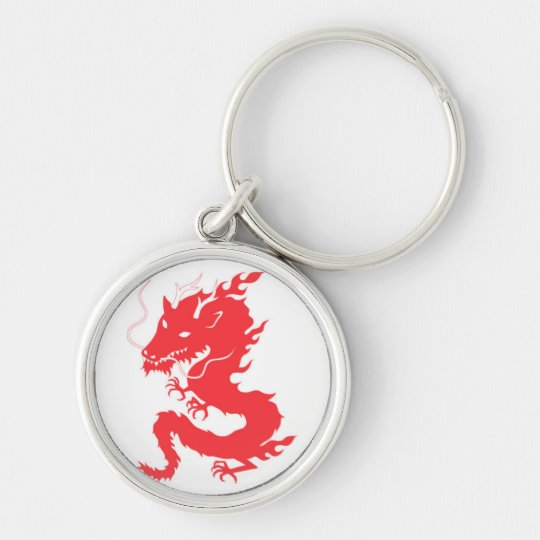 Red Dragon Keychain