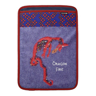 Red Dragon Myth Fantasy MacBook Sleeve