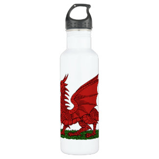 Red Dragon of Wales 710 Ml Water Bottle