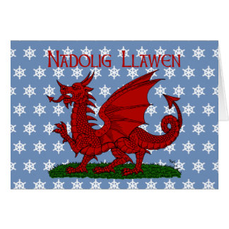 Red Dragon of Wales Card