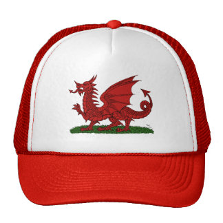 Red Dragon of Wales Hat