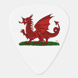 Red Dragon of Wales Plectrum