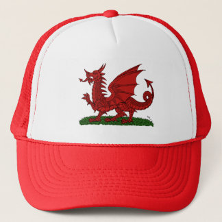 Red Dragon of Wales Trucker Hat