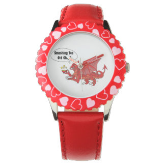 Red Dragon of Wales Watch