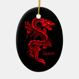 Red dragon Ornament