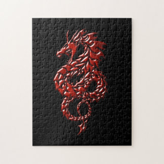 Red Dragon Rising Jigsaw Puzzle