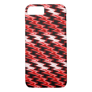 Red Dragon Scales Fractal iPhone 7 Case