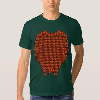 Red Dragon Scales Tshirt