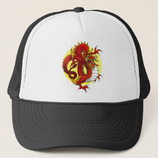 RED DRAGON TRUCKER HAT