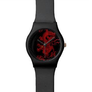 Red Dragon Wristwatch