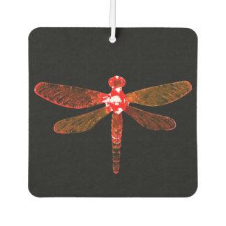Red Dragonfly Car Air Freshener