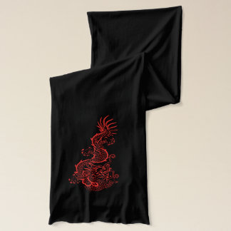 Red Dragons Scarf