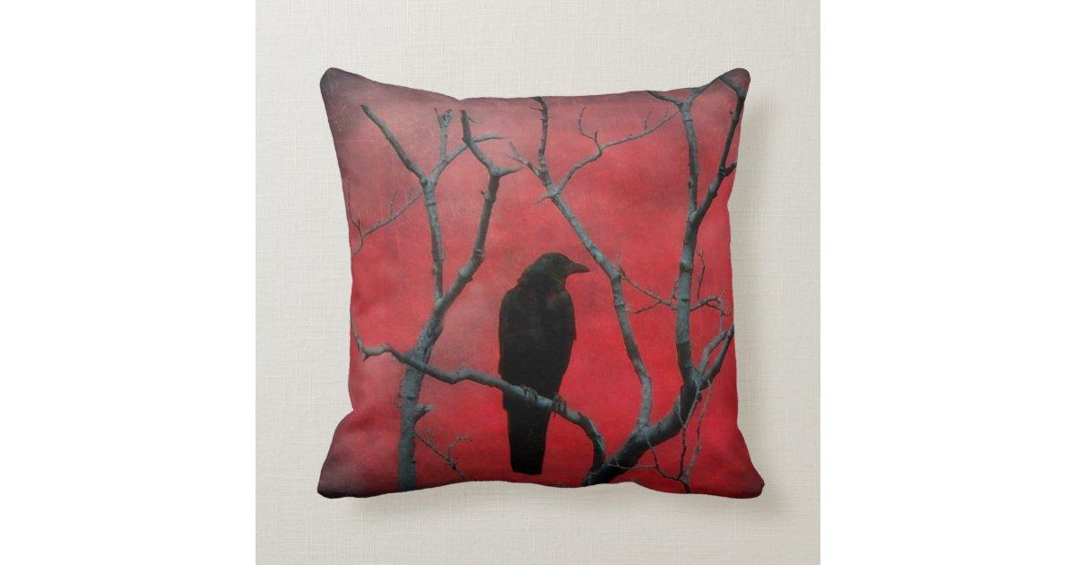 red dream throw cushions zazzle