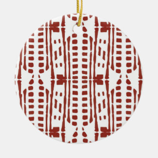 Red drops christmas ornament